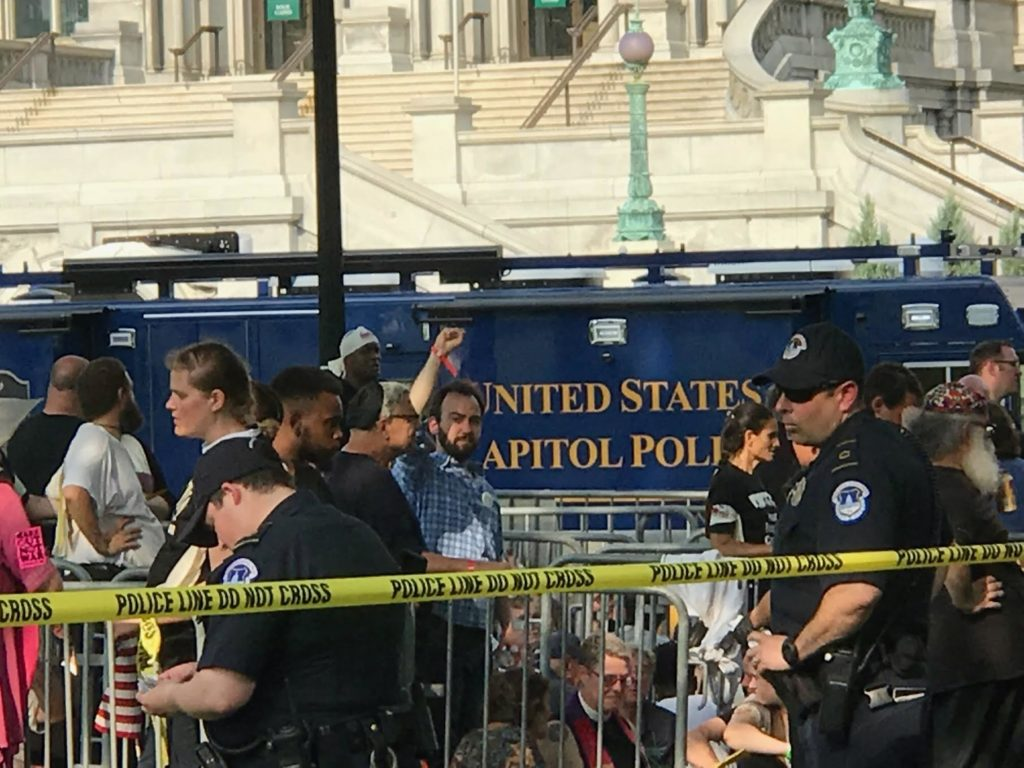 Arrests at Poor Peoples Campaign May 14 2018